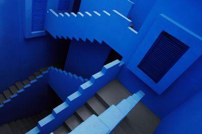 Stairway maze